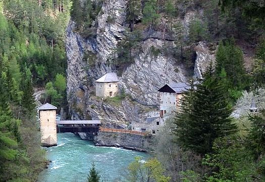 Brücke von Altfinstermünz