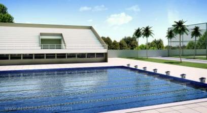 Pensar Grande Piscina Olimpica Em Salvador
