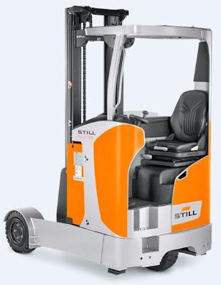 Xe nâng reach truck Still SM-SE 16 20