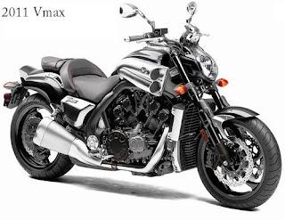 2011 Yamaha Vmax Motorcycle
