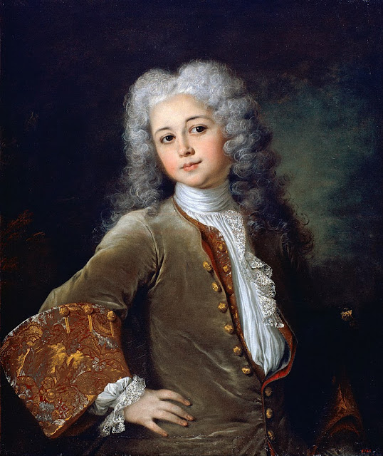 Nicolas de Largillière - Portrait of a Young Man with a Wig - Google Art Project