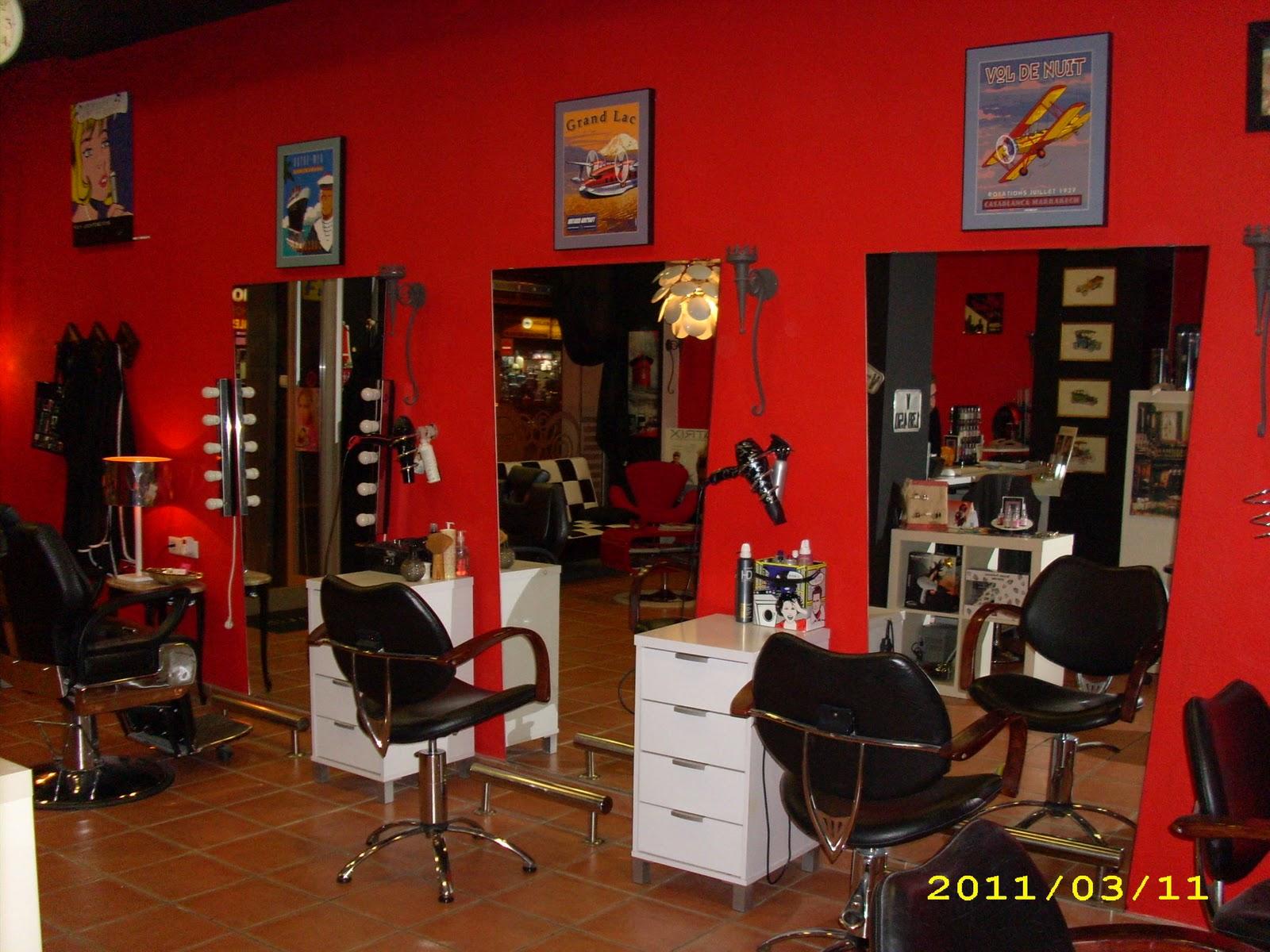 El baul de monica - Como amueblar una peluqueria ...