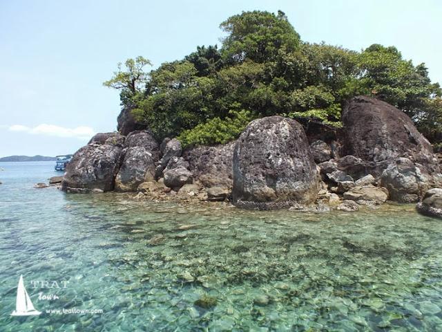 เกาะยักษ์ใหญ่ ดำน้ำ ชมปะการัง กับโฮมสเตย์ บีช ป้านา