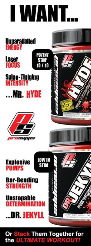 Pro Sups - MR HYDE and DR Jekyll