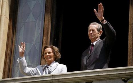 Regele Mihai I deschide porțile Palatului Elisabeta
