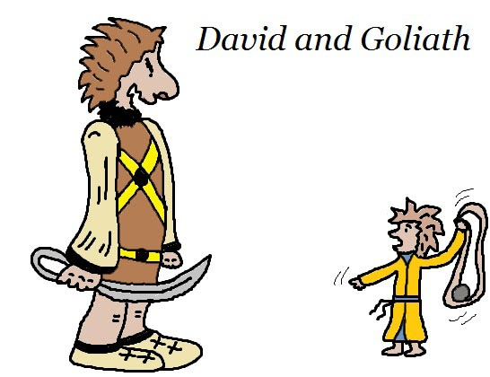 Church House Collection Blog: David and Goliath Clipart