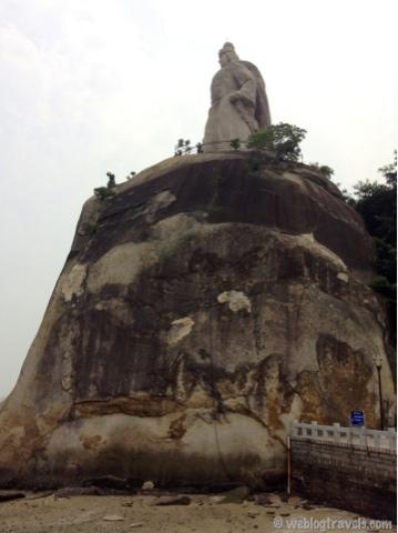 Zheng Chenggong statue, Gulangyu Island, Xiamen
