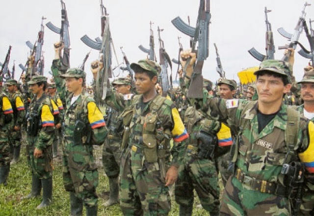 FARC Asesinos Colombia