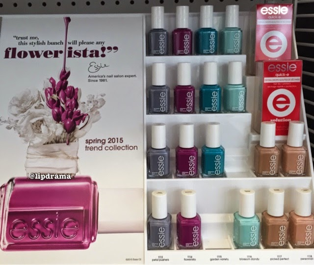 NEW Essie Spring 2015 Trend Collection + Swatches   Lip Drama