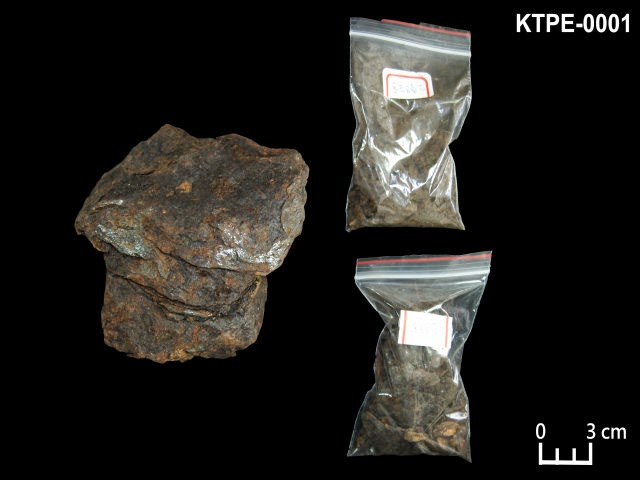 KTPE-0001 鐵隕石