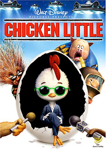 Poster Of Chicken Little (2005) Full Movie Hindi Dubbed Free Download Watch Online At alldownloads4u.com