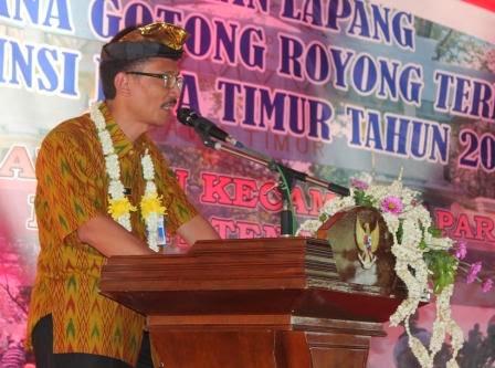 Ngawi Masuk 3 Besar Penilaian Lomba Gotong Royong Terbaik Jawa Timur