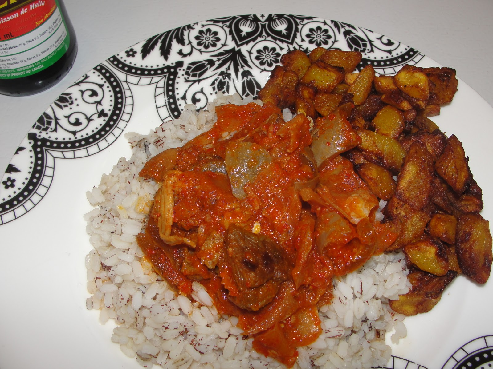 Image result for white rice and dodo