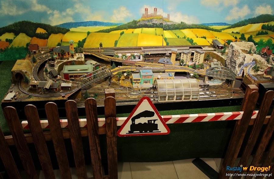 Kielce Muzeum Zabawek i Zabawy - kolejka