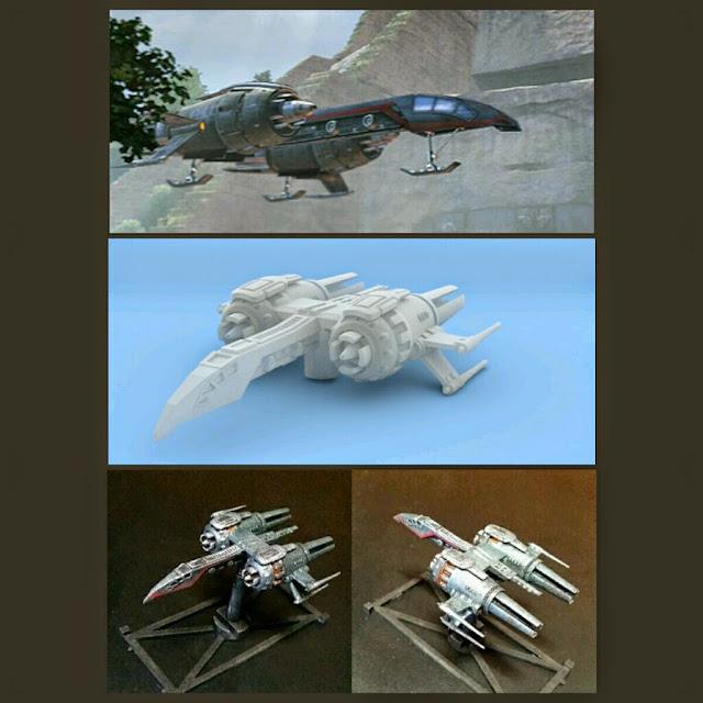 Garra de Cuervo de Mel Miniatures