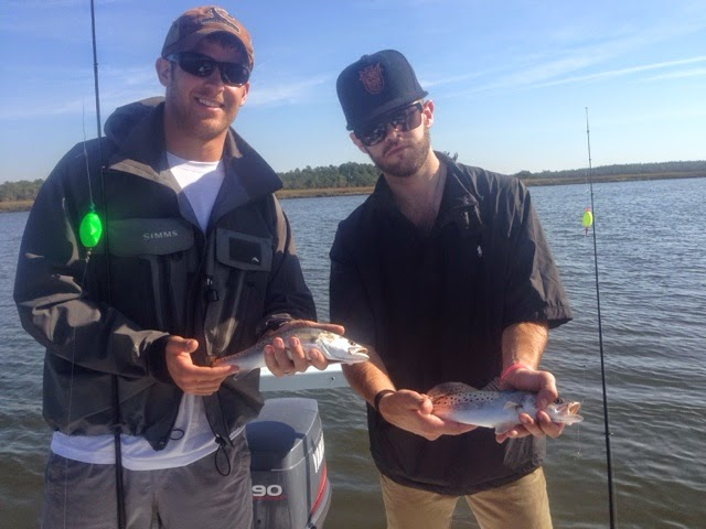 fishing charter trout charleston sc