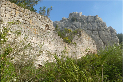 Antiguo poblado medieval
