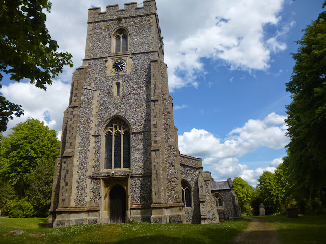 St Nicholas church, Elmdon