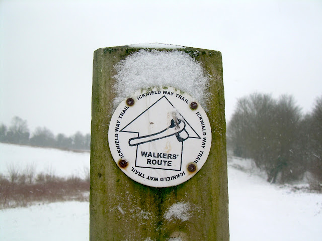 Icknield Way signpost