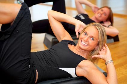exercícios abdominais