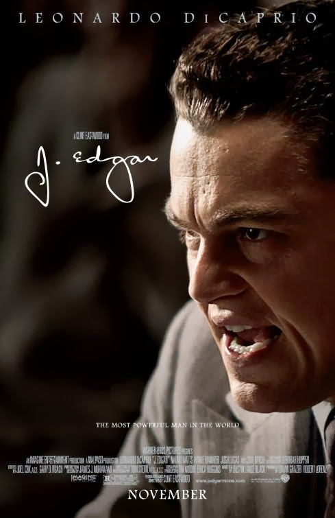 Poster Of J. Edgar (2011) Full Movie Hindi Dubbed Free Download Watch Online At Alldownloads4u.Com