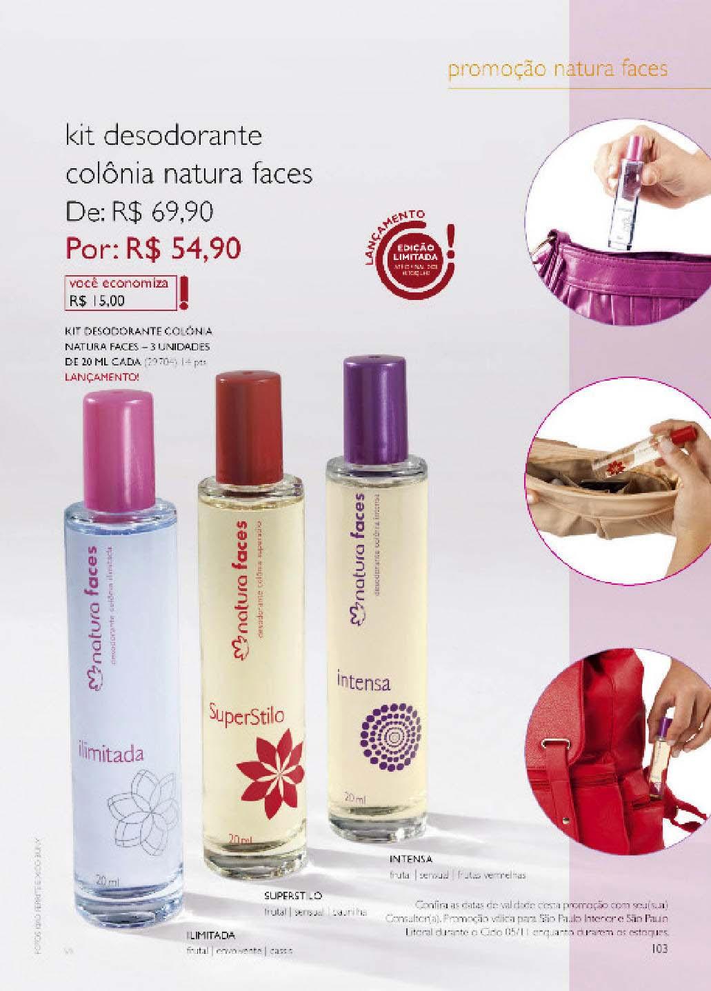 Promoções Natura Ciclo 05/2011