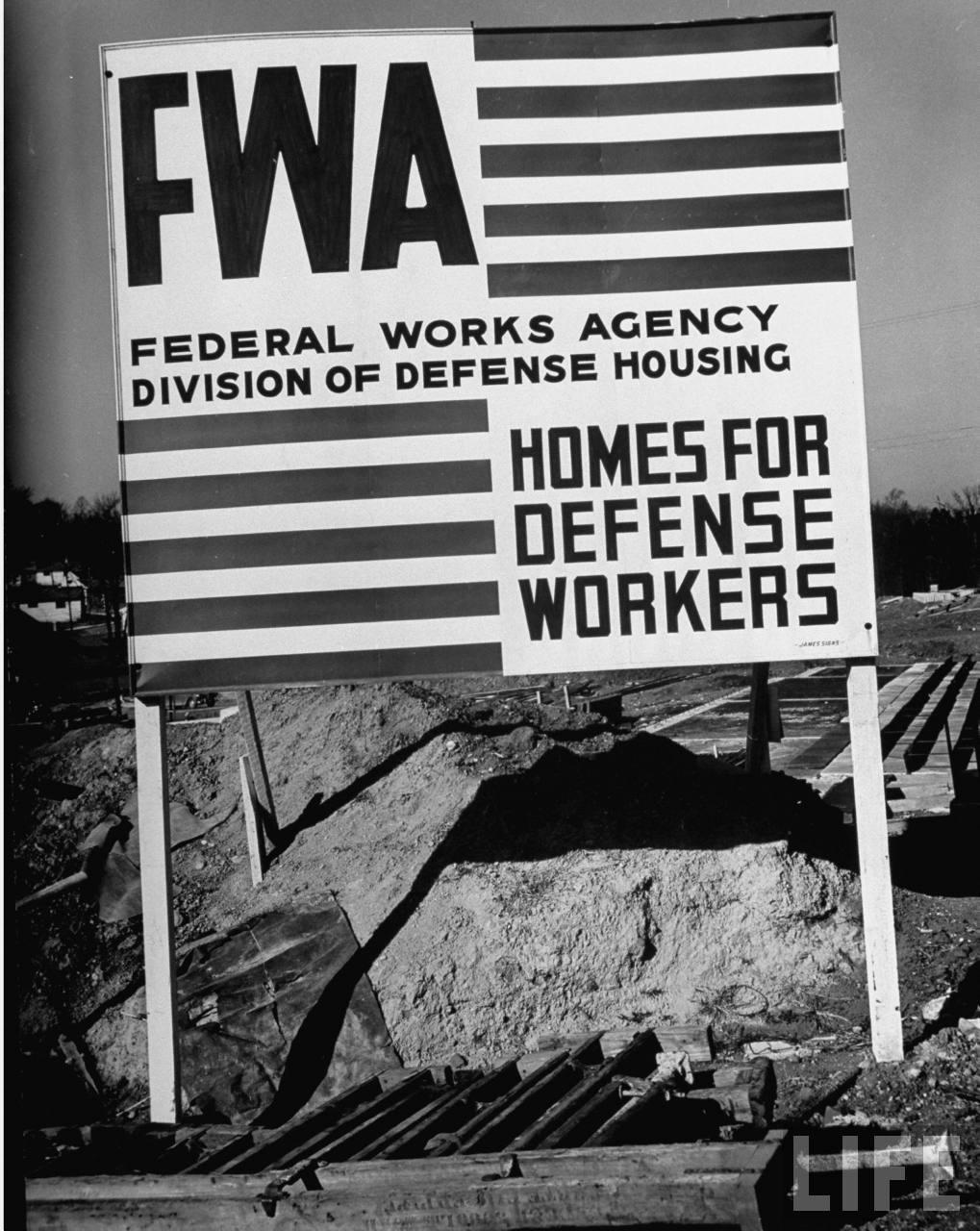 Image result for Federal works agency