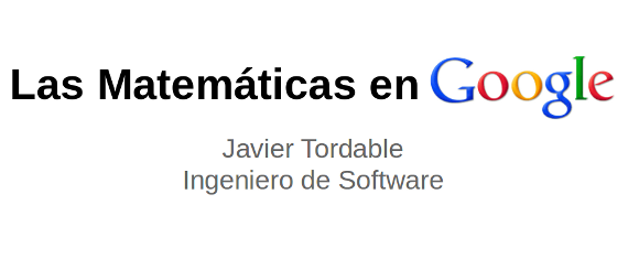 Como utilizan las Matemáticas en Google