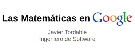 Matemáticas en Google