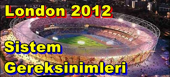 London 2012 The Official Video Game PC Sistem Gereksinimleri
