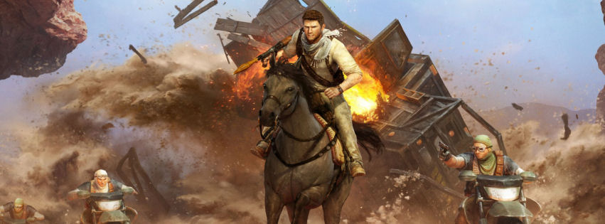 Uncharted drakes deception facebook cover