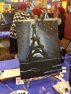 Painting with a Twist in Friendswood,TX