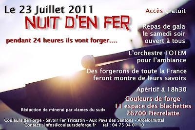 Nuit d'En Fer à Pierrelatte le 23/7/2011