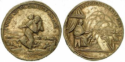 Медаль Карла XII на победу 1700 г.