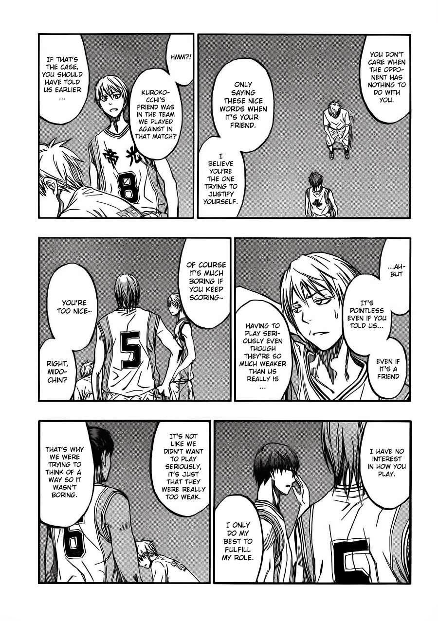 Kuroko no Basket Manga Chapter 227 - Image 03