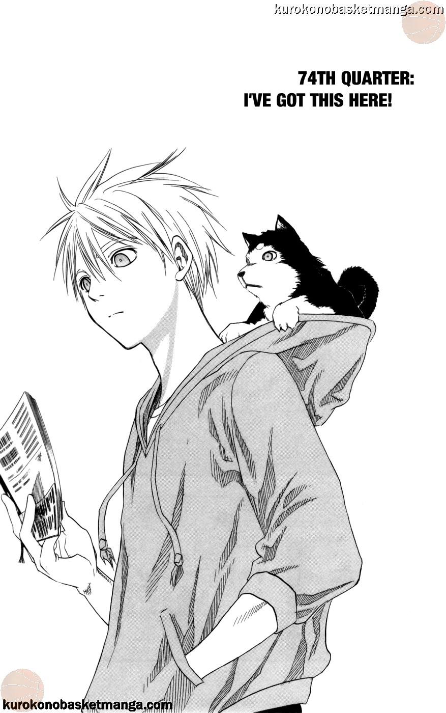 Kuroko no Basket Manga Chapter 74 - Image 05