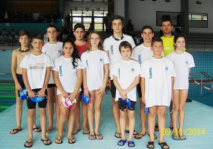 Lamego começa com vitórias Circuito Municipal de Escolas de Natação
