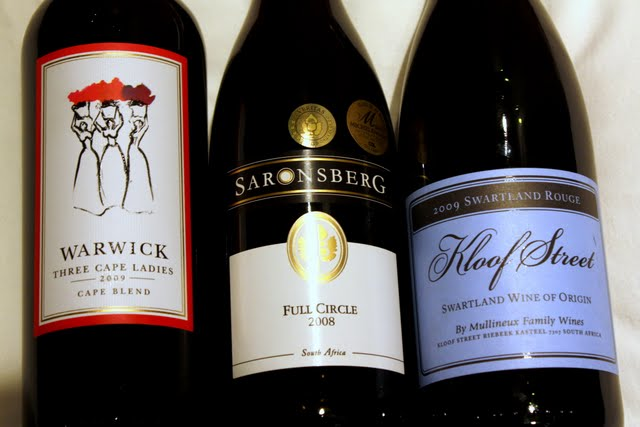 Wine at Makro in Johannesburg South Africa