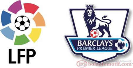 England Premier League (EPL) dan LA Liga (BBVA)