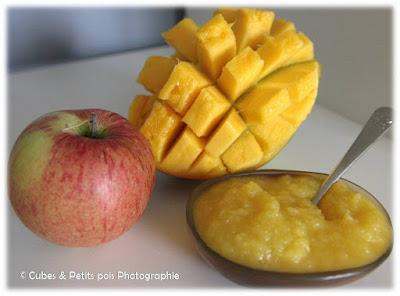 recette-pour-bébé-compote-mangue