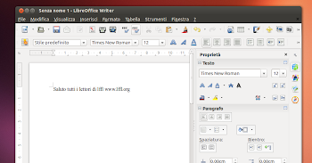 LibreOffice 4.1 RC 1 - Writer - la nuova sidebar