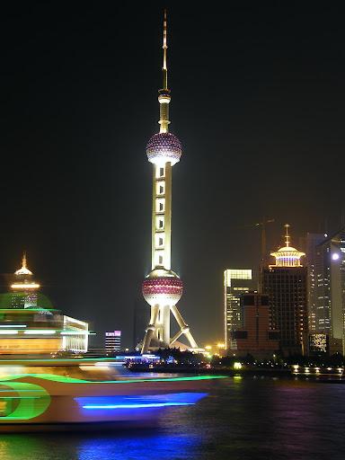 Vistas de Pudong, Shanghai
