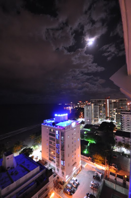 night in isla verde