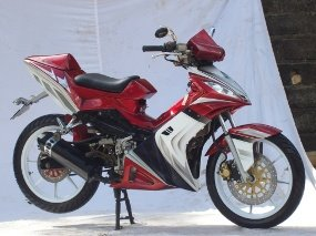 Motorcycle Design Usa Modifikasi Motor Smash 110