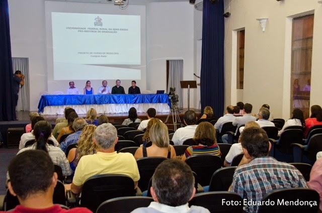 Ufersa: Projeto pedagógico do curso de Medicina é apresentado em Assú