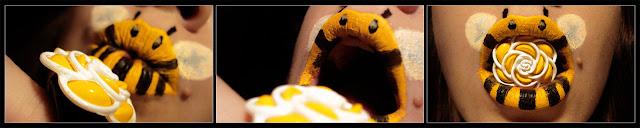 paige thompson makeup ape sulle labbra