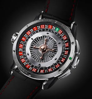 Roulette Montre Christophe Claret 21 Blackjack