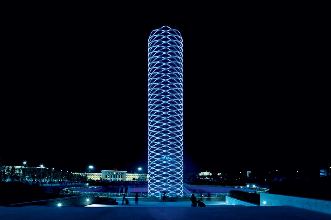 Tientsin, Cina: Tower of Ring by Eastern Design Office