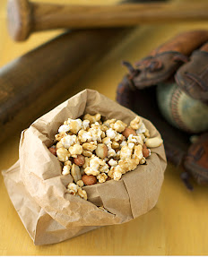 Peanuts and Caramel Corn