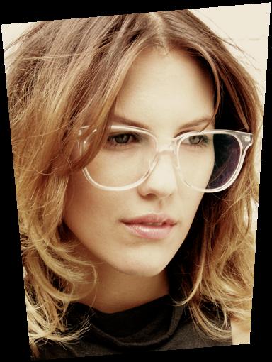 Transparent Frame Eyeglasses : pink.lemon.in.crystal : todays inspiration: eyewear
